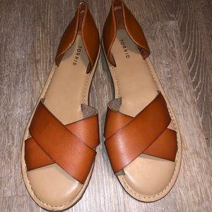 Tan Torrid sandals
